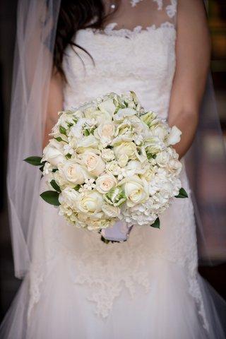 bridal-bouquet-of-white-roses-hydrangeas-and-stephanotis