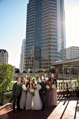 bridesmaids-and-groomsmen-in-downtown-los-angeles