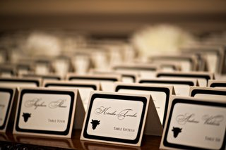 white-place-cards-with-black-border-and-calligraphy