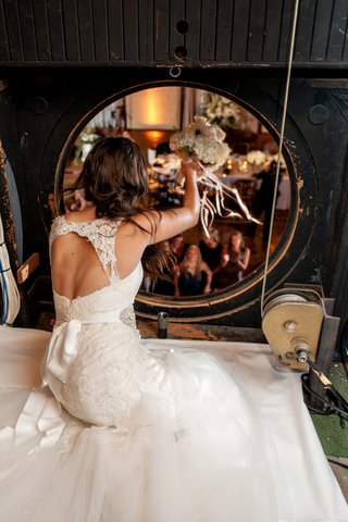 wedding-dress-with-lace-keyhole-back-and-bow