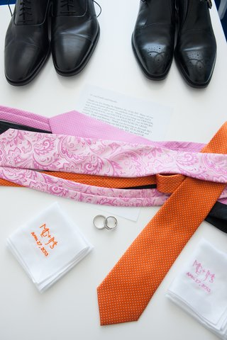 paisley-and-polka-dot-tie-with-monogrammed-handkerchiefs