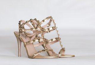 valentino-bridal-shoes-with-gold-straps-and-gold-studs