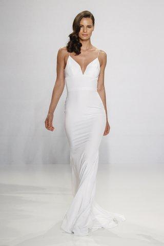 christian-siriano-for-kleinfeld-bridal-form-fitting-slip-wedding-dress-with-spaghetti-strap