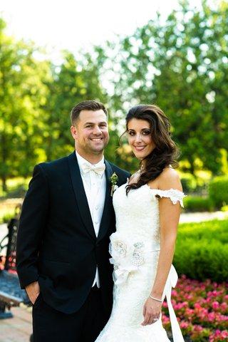 bride-and-groom-at-allentown-mansion-garden-venue