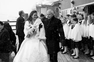 black-and-white-photo-of-bride-walking-with-father
