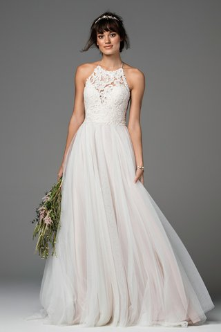 a-line-halter-gown-with-an-anemone-embroidered-lace-bodice-and-skirt-with-soft-netting