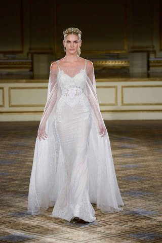 berta-fall-winter-2016-fitted-spaghetti-strap-wedding-dress-and-cape