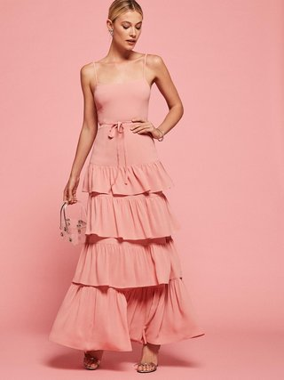 reformation-bridesmaid-dress-foxglove-dress-in-blush-with-ruffles-and-belted-waist