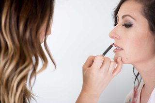 bride-getting-lip-liner-lined-makeup-beauty-wedding-bridal-bride-getting-ready