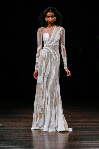 naeem-khan-bridal-fall-2017-santiago-long-sleeve-wedding-dress-beaded-sheer-cutouts-illusion-neck