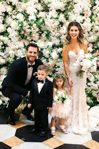 detroit-lions-taylor-decker-with-wife-bryn-toyama-at-wedding-ring-bearer-in-tux-flower-girl-tutu