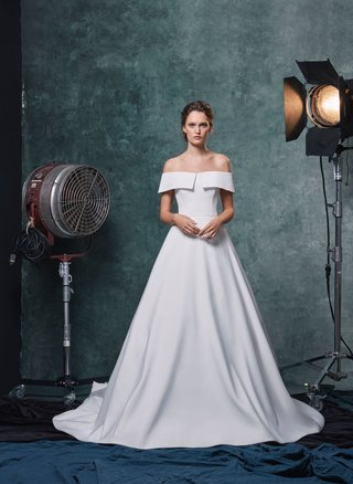 sareh-nouri-fall-2019-bridal-collection-wedding-dress-angelina-faille-off-the-shoulder-ball-gown