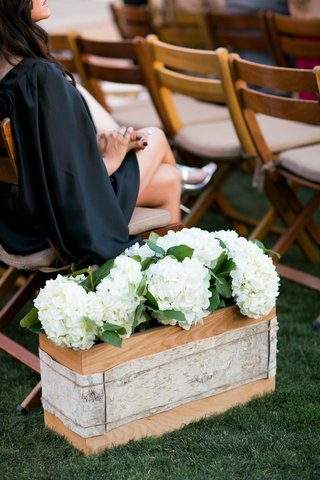 birch-bark-wrapped-around-wood-box-and-white-hydrangea