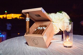 wooden-box-of-cigars-cigar-station-at-wedding-reception