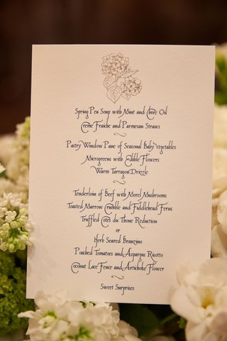 blue-and-white-silver-menu-card-calligraphy-script-menu-selections