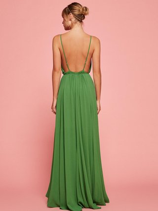 green-bridesmaid-dress-by-reformation-callalily-in-mojito-open-back