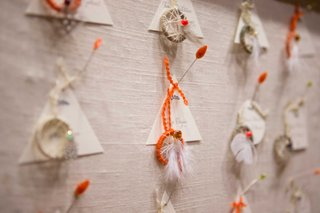 wedding-escort-cards-paired-with-miniature-dream-catchers