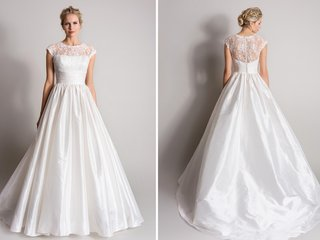 white-ball-gown-with-lace-neckline-and-back