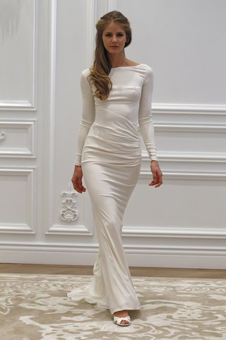 long-sleeved-wedding-dress-with-low-back-by-anne-barge