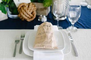 family-dinner-menu-listed-on-kraft-paper-bread-bag