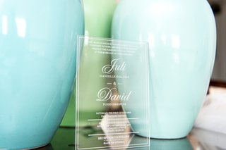 clear-wedding-invitation-chicago-details-glass-plastic-couple-museum-contemporary-art
