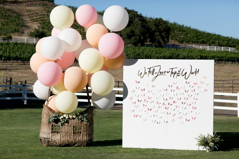 Balloons by Seating Chart