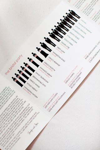 wedding-program-with-bridesmaid-and-groomsmen-icons