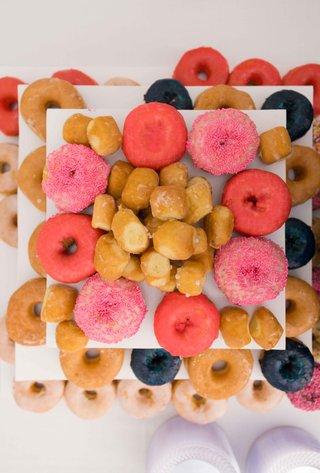 display-colorful-donuts-pink-blue-normal-sugar-desserts-wedding-reception-snack