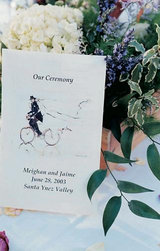 wedding-ceremony-stationery-with-illustration