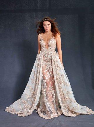 galia-lahav-couture-le-secret-royal-part-2-lily-rose-illusion-neckline-wedding-dress-ball-gown-layer