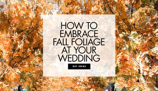 how-to-use-fall-foliage-in-your-wedding-decor-fall-wedding-inspiration
