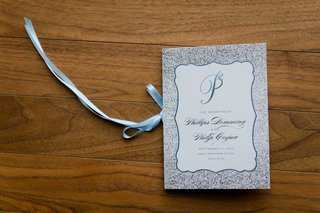 wedding-ceremony-program-light-blue-silver-white-design-elizabeth-grace