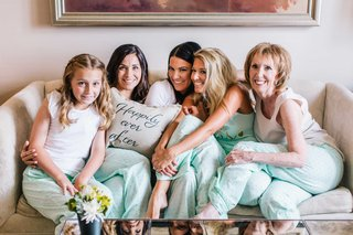 mint-polka-dot-pajama-pants-for-three-generations-happily-ever-after-pillows