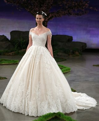 ines-di-santo-primrose-ball-gown-wedding-dress-with-lace-and-pearl-drop-sleeves
