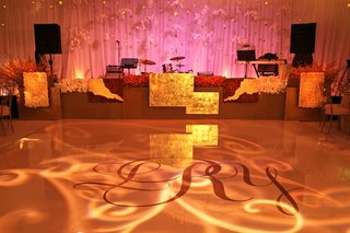 white-dance-floor-with-wedding-initials-and-lighting