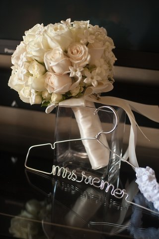 white-rose-and-stephanotis-bouquet-with-custom-hanger