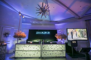 wedding-after-party-light-up-illuminated-bar-chandelier-photo-booth-purple-lighting