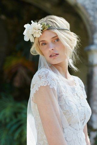 bride-in-august-tadashi-shoji-wedding-dress-with-flower-headband