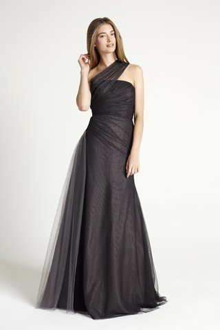 black-one-shoulder-dress-monique-lhuillier-bridesmaid-collection-2016