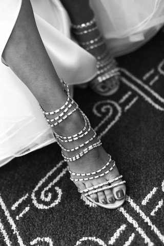 black-and-white-photo-of-indian-crystal-sandals