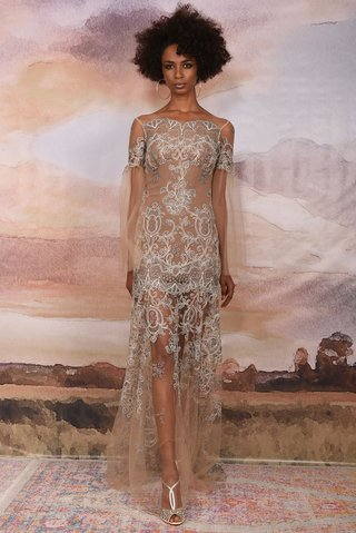 claire-pettibone-vagabond-collection-2018-sahara-illusion-sheer-dress-grey-flower-embroidery-wedding