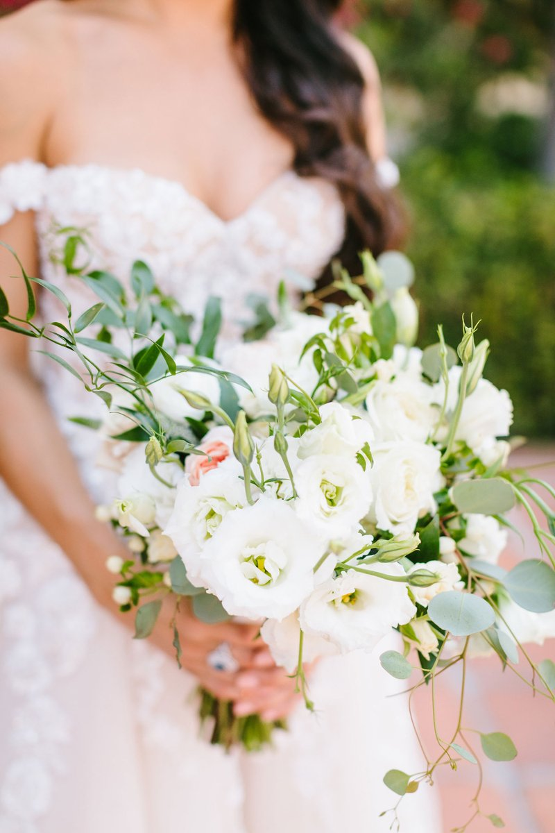 Natural & Neutral Bridal Bouquet