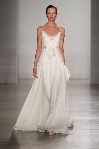 christos-fall-2016-silk-chiffon-spaghetti-strap-wedding-dress-with-lace-on-bodice