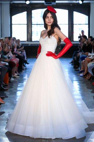 watters-fall-2018-bridal-collection-wedding-dress-zarah-horsehair-a-line-skirt-sweetheart-neckline