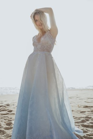 oceane-by-sabrina-dahan-spring-summer-2018-blue-ombre-skirt-lace-v-neck-gown