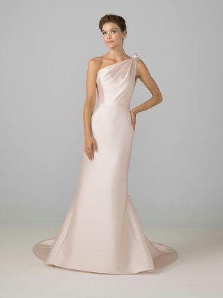 azul-by-liancarlo-2018-bridal-collection-blush-one-shoulder-wedding-dress-draped-bodice-silk-satin