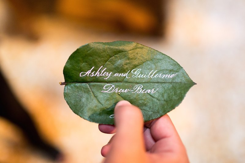 Leaf Place Card