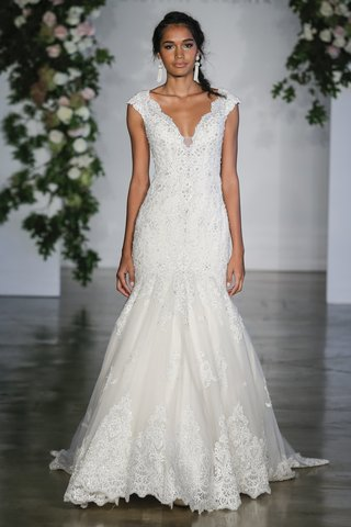 morilee-fall-2018-crystal-beaded-alencon-lace-appliques-mermaid-gown-wide-scalloped-hemline
