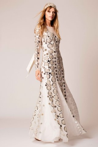 temperley-bridal-2016-long-sleeve-mirror-ball-1970s-inspired-wedding-dress