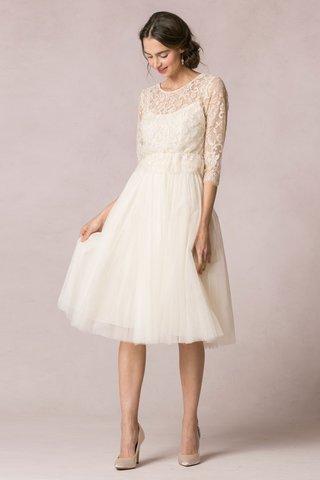 jenny-yoo-bridal-two-piece-wedding-dress-with-tea-length-hemline